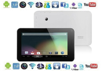 Dual Core 7 Inch Capacitive Screen 8G Android 4.2.2 HDMI OTG WIFI GPU Mali 400MP Tablet PC Dual Camera cheap price tablet pc