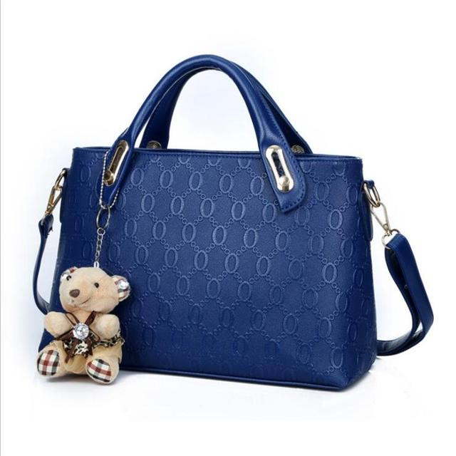 ETONTECK Women Bag Top-Handle Bags Female Famous Brand 2018 Women Girls Messenger Bags Handbag 4 Set PU Leather Composite Bag 4