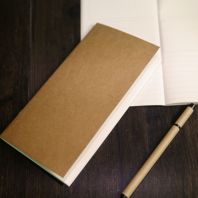 Creative  Diary Notebook Kraft Paper Inside Page  3