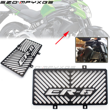 Motorcycle stainless steel Radiator grille guard protection cover For Kawasaki ER6N ER-6N ER6F ER-6F 2009 2010 2011 ER-6 ER 6