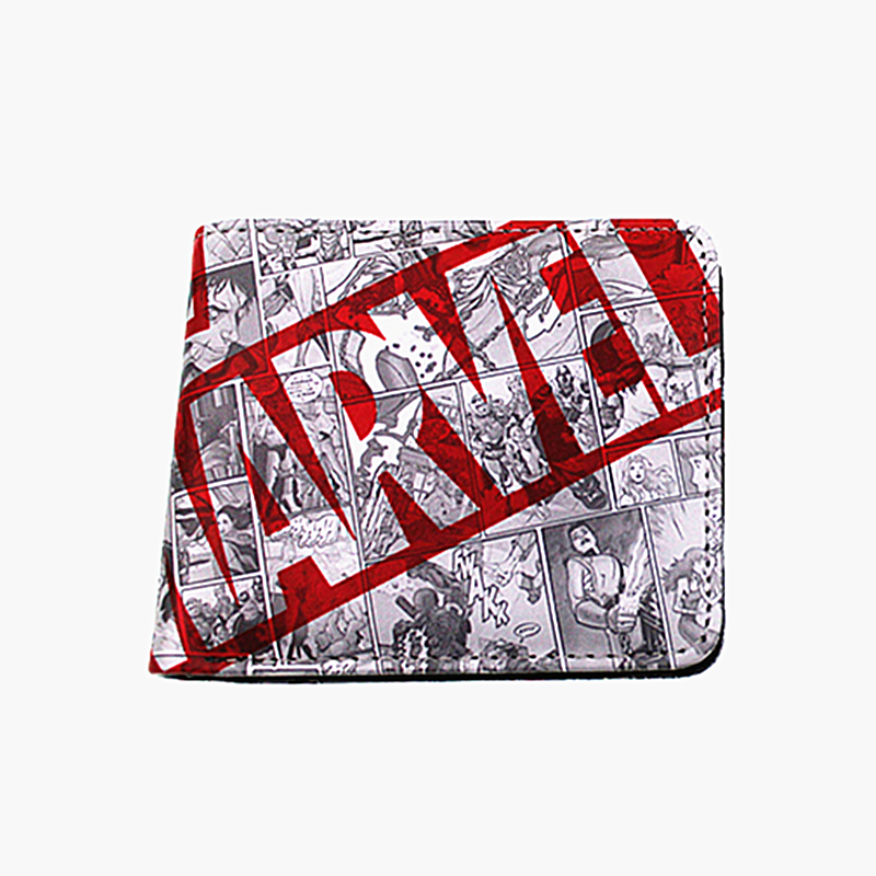 Money Purse Coins Marvel-Hero-Collection Cartoon Wallets Deadpool-Hulk Flashman