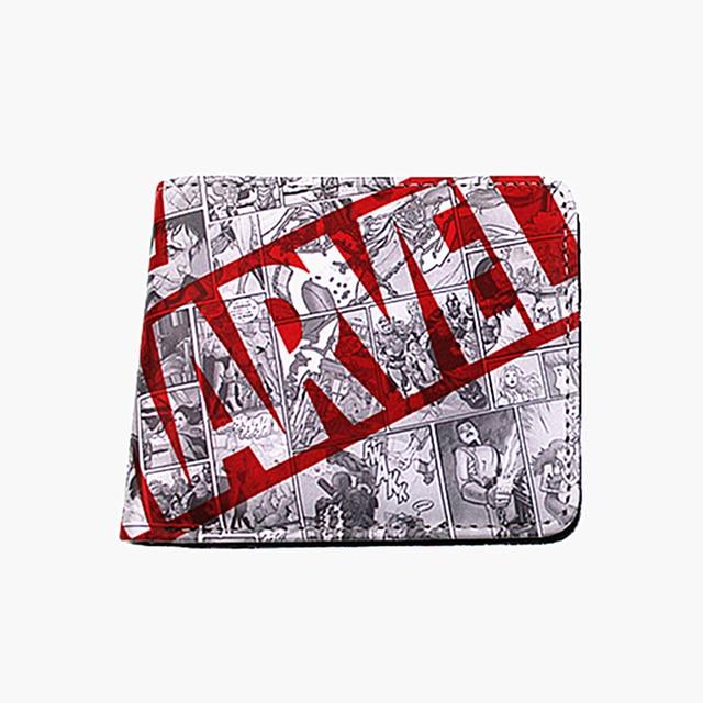 cartoon wallets marvel hero Collection deadpool hulk money purse flashman spiderman purse for coins Kids Wallets
