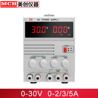 DC Power Supply 30V 2A 3A 5A Adjustable with 5V 2A Fixed Output Linear DC Regulated Power Supply Benchtop Power Supply