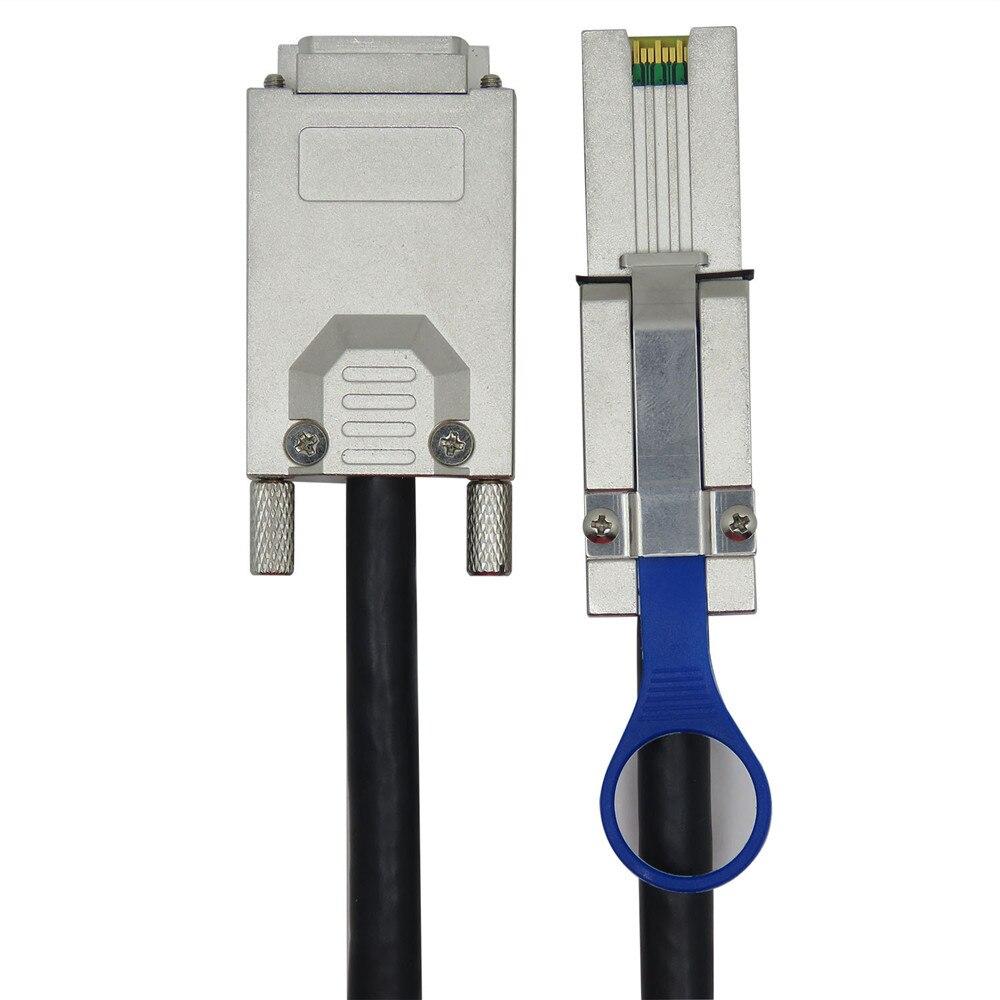 Sff-8088 SFF-8470 к mini sas к 26p кабель infiniband 2 м(G0302