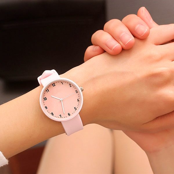 JBRL Brand Silicone Wristwatch Women Watches Simple Fashion Quartz Watch for Lad