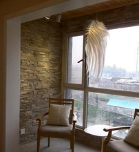 Modern Romantic Angel Wings PVC White Feather Pendant Light Hanging Lamp 110-240V LED E27 Base for Bedroom Lamparas Lustre недорого