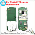 Unlocked Origianl Mobile Phone Cell Phone motherboard Circuits main logic board For Nokia 3720 classic include Russian language