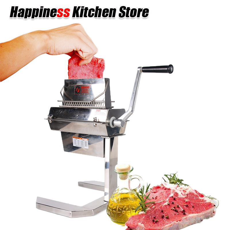 Manual Stainless Steel Fresh Meat Tenderizer Steak Chicken Meat Injector Kitchen Tools For Comercial And Household