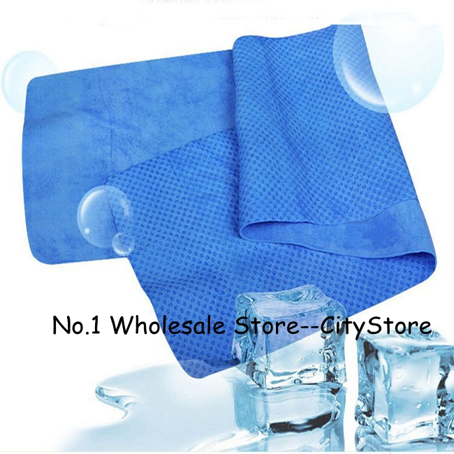 Sweat Towels Sign: Free Shipping 200pcs/lot Cold Towel Exercise Sweat Summer