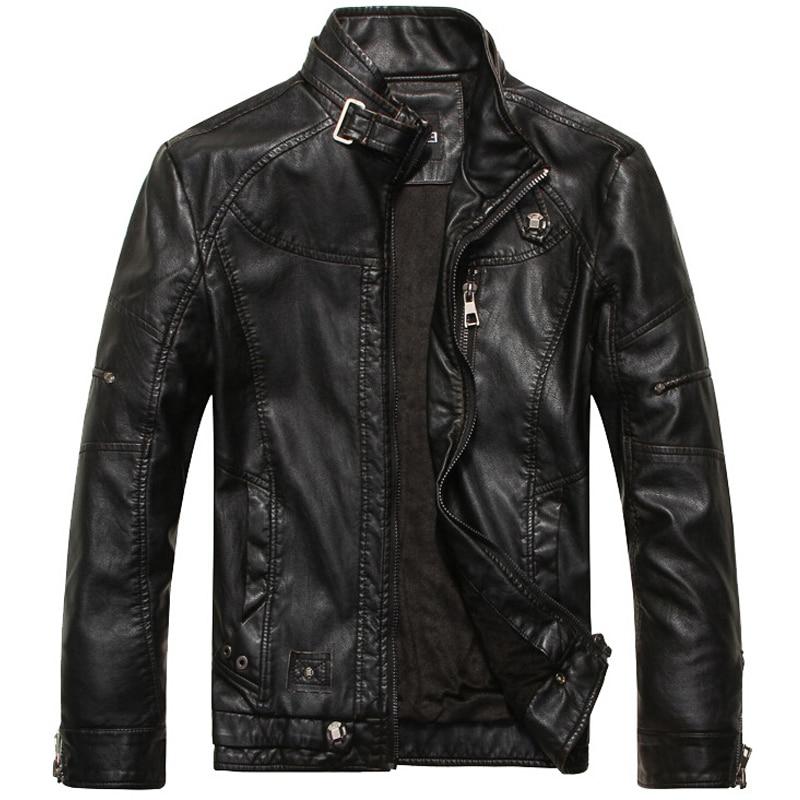 Online Get Cheap Mens Leather Bomber Jacket -Aliexpress.com ...