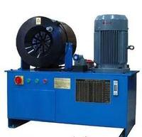 5 years warranty Powerful smartest 380v 7.5kw three phase 76mm hydraulic hose pressing machine with 17 dies