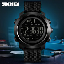 цена на 2019 SKMEI Sport Smart Watch Men Calories Pedometer Bluetooth Watches Milanese Strap Waterproof Digital Smartwatch Reloj Hombre
