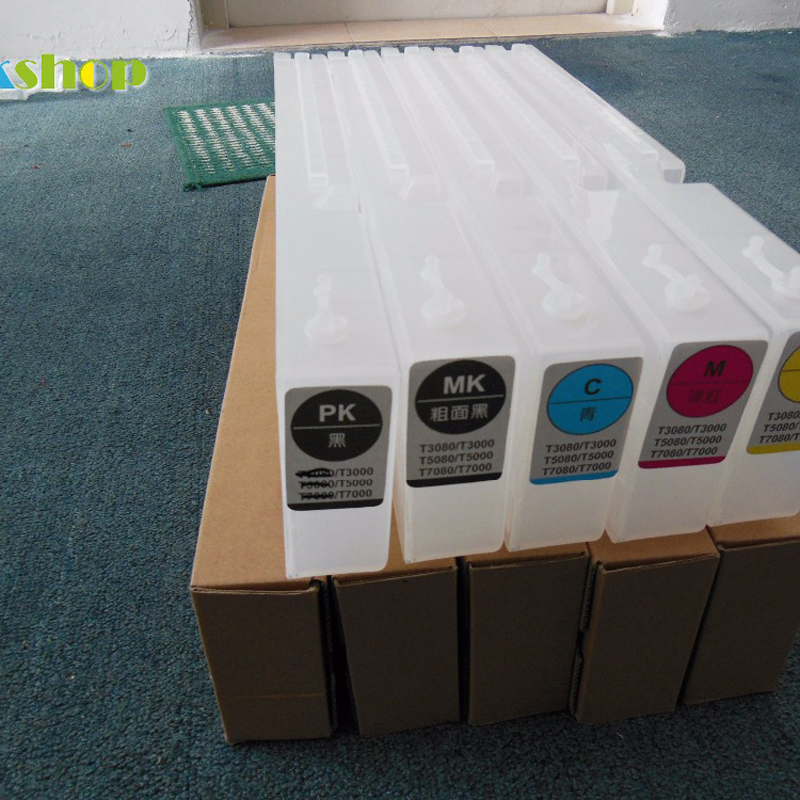 T6941 T6945 Refillable Ink Cartridge For Epson SureColor T3200 T5200 T7200 T3270 T5270 T7270 T3270D T5270D T7270D printer in Ink Cartridges from Computer Office