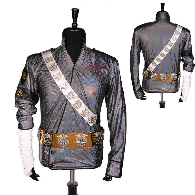 Rare Handmade MJ Michael Jackson BAD Dangerous Jam Laser