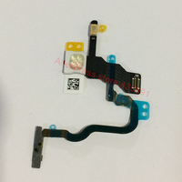 Original New Power ON OFF Switch With Flash Flex Ribbon Cable For IPhone X Replacement Repair