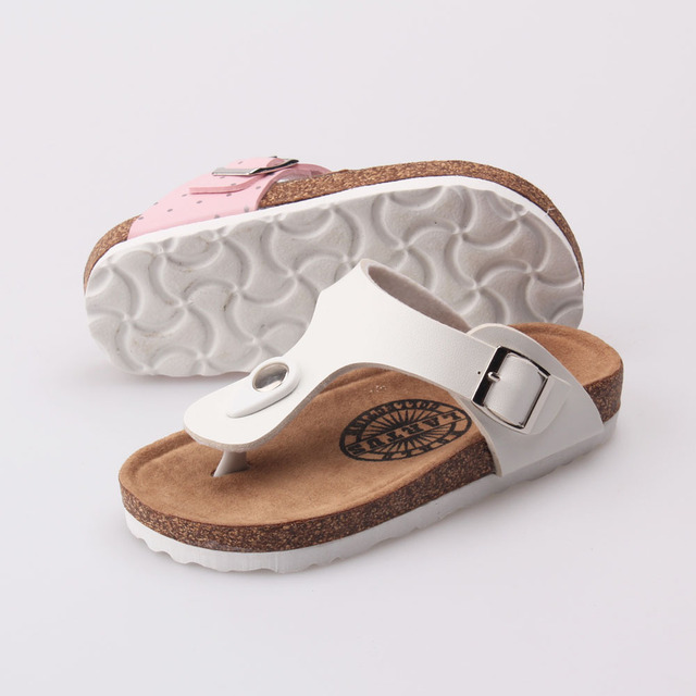 New shoes for children 2017 summer flip flops tide Beach sandals and slippers for  boys and girls Korean parents shoes