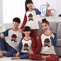 New Arrival Fall Winter Womens Pajama Sets Cartoon Couple Pajamas Set Lady Family Fitted Women Sleepwear Home Clothing
