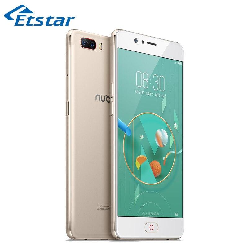 bilder für Original Nubia M2 5,5 ''Smartphone 4 GB RAM 64 GB ROM Löwenmaul 625 Octa-core Dual Hinten Kameras Android 6.0 mobiltelefon