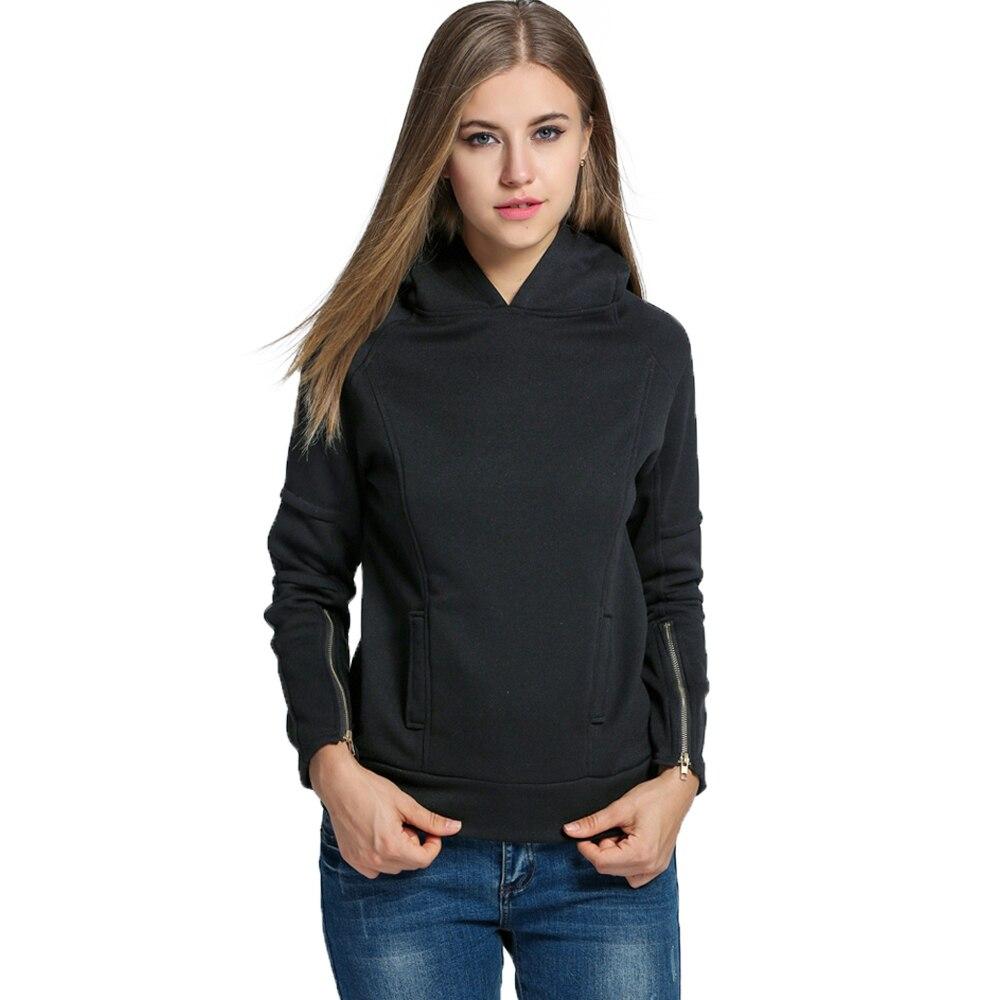 Spring Autumn Women Hoody Suit Sweatshirt Sportswear Female Tracksuit Hood Polerone Chandal Clothing Clothes Sweat Femme 2016