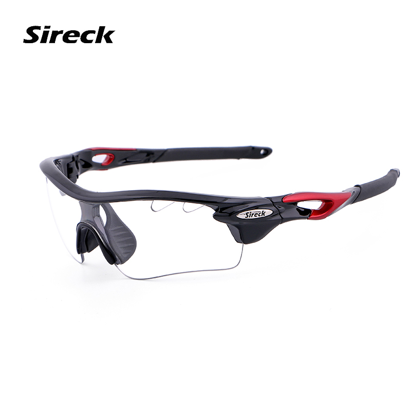 Sireck Polarized Cycling Glasses 2 Lens Photochromic MTB Road Bike Eyewear Driving Fishi ...