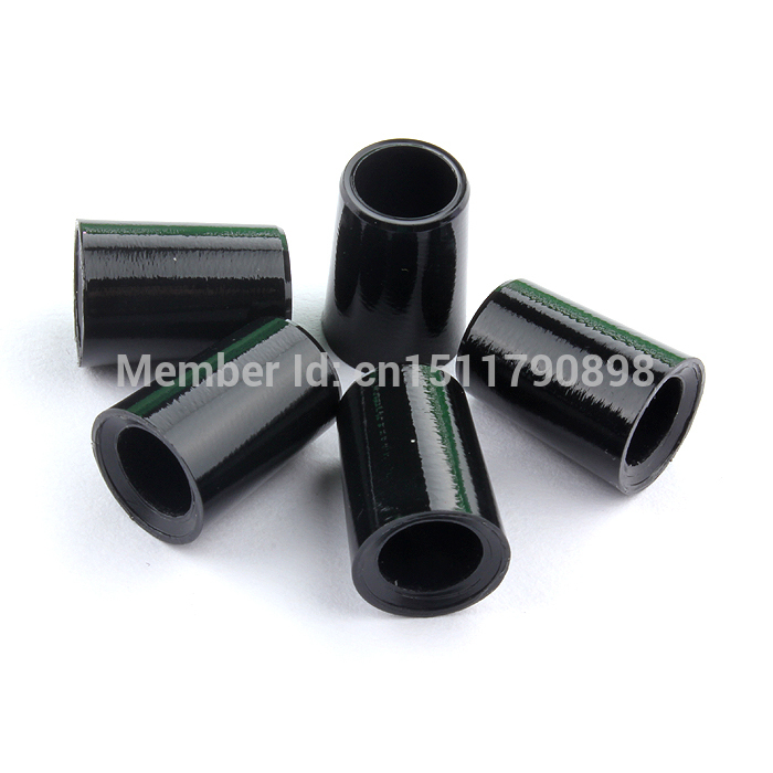 Free Shipping 30Pcs .355 Black Taper Tip Golf Iron Ferrules For Golf Adapter Ferrule