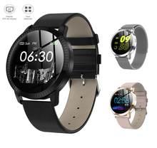 VS V11 Q8 akıllı saat IP67 su geçirmez temperli cam aktivite spor izci nabız monitörü ağız erkekler kadınlar smartwatch CF18