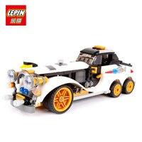LEPIN 07047 305Pcs Genuine Series Building Blocks Bricks Toys The Arctic War Penguin Classic Car For