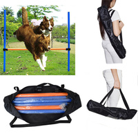 Large Dogs Outdoors Sports Games Exercise Training Equipment Agile Barrier Bar Two Kinds Pet Training Toys Dogs Jump High Toys