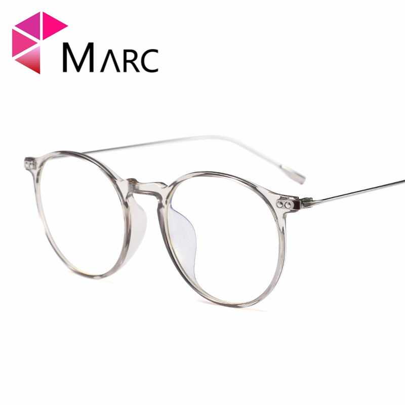 MARC WOMEN MEN Reading Optical Plain glass spectacles glasses Literature and art retro c ...