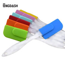 ENGDASH 1Pcs Silicone Palette Knife Silicone Spatula Multifunctional Kitchen Baking Tool Cake Cream Butter Knife DIY Home Food(China)