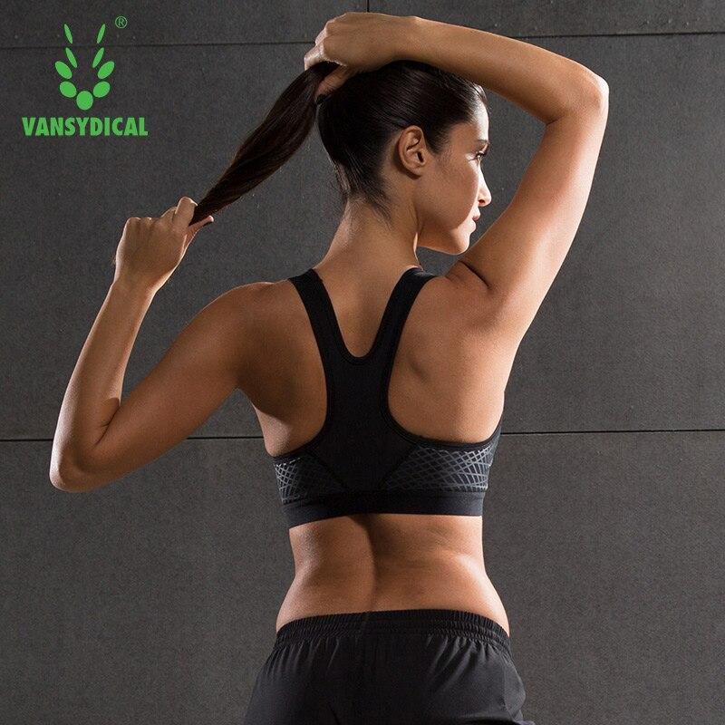 Prix pour Femmes Fitness Yoga Soutien-Gorge de Sport Pour Courir Gym Rembourré Fil livraison Secouer la preuve Sous-Vêtements Push Up Sans Soudure Fitness Top Bras
