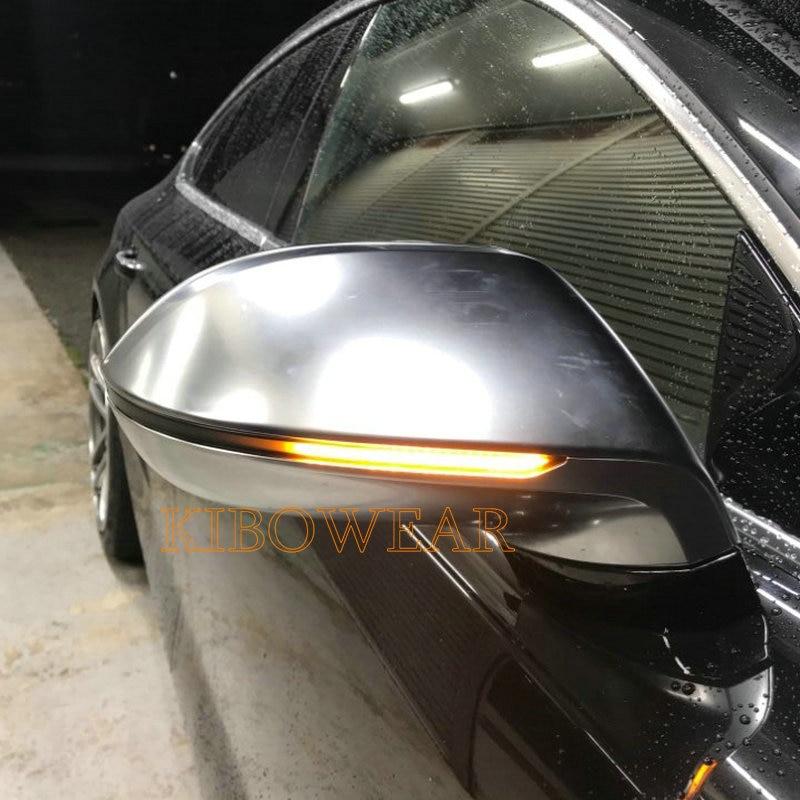 KIBOWEAR Dynamic Blinker Mirror Light for Audi A7 S7 RS7 2011 2013 2014 2015 2016 2017