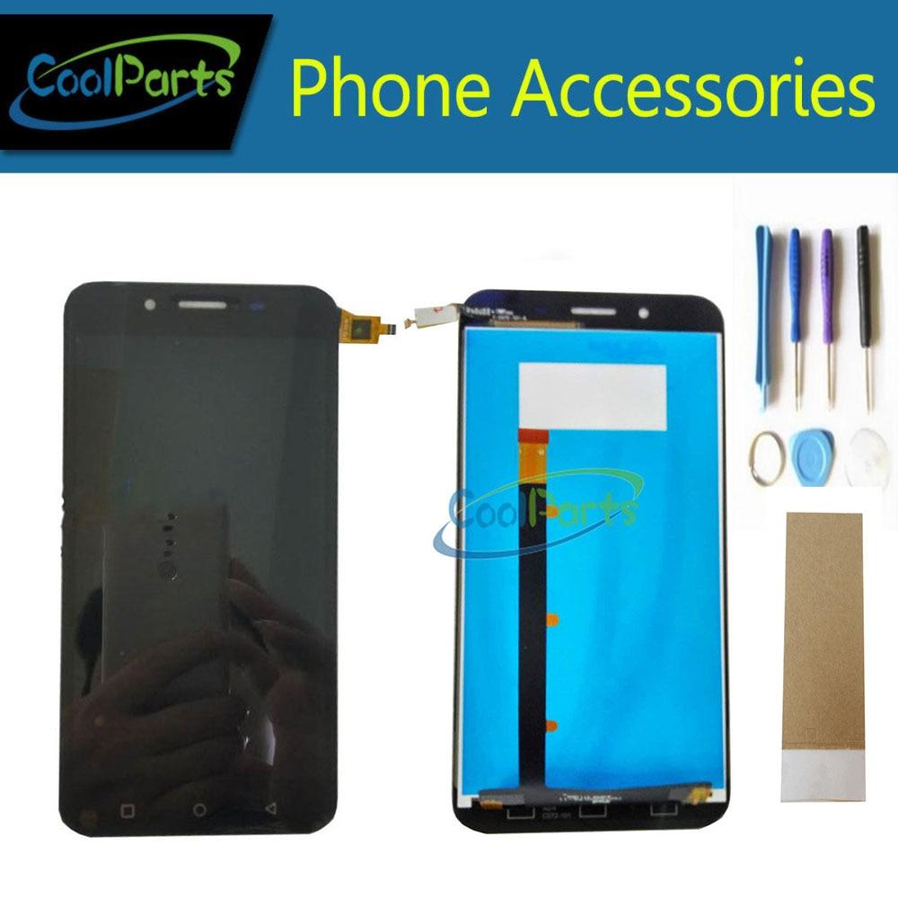 1 PC/Lot Haute Qualité Pour Micromax Q391 Toile Doodle 4 LCD Affichage Écran Et Écran Tactile Numériser Avec Outils Noir couleur