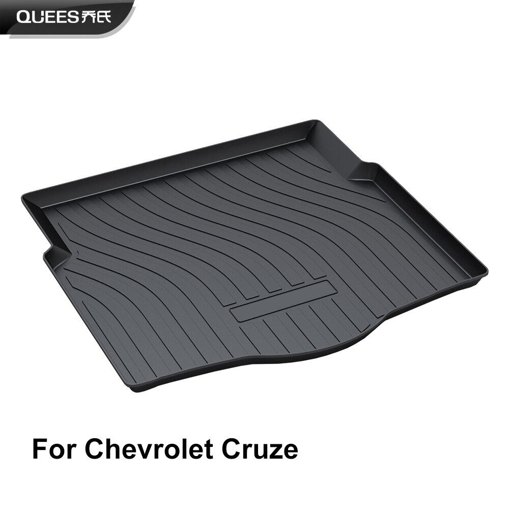 QUEES Custom Fit Cargo Liner Trunk Mat for Chevrolet Cruze Sedan Don t fit Hatchback 2011