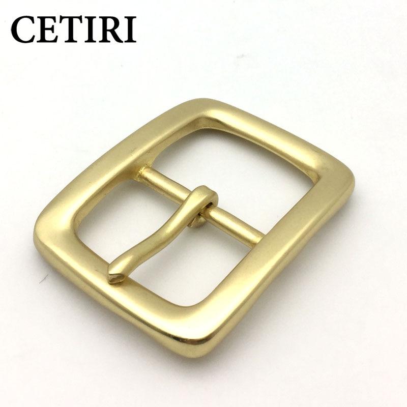 CETIRI Mens Luxury Brand Designer Brass Belt Buckle Men Belt Buckles For 39mm Wide Belt Pin Type Belt Buckles Cowboys