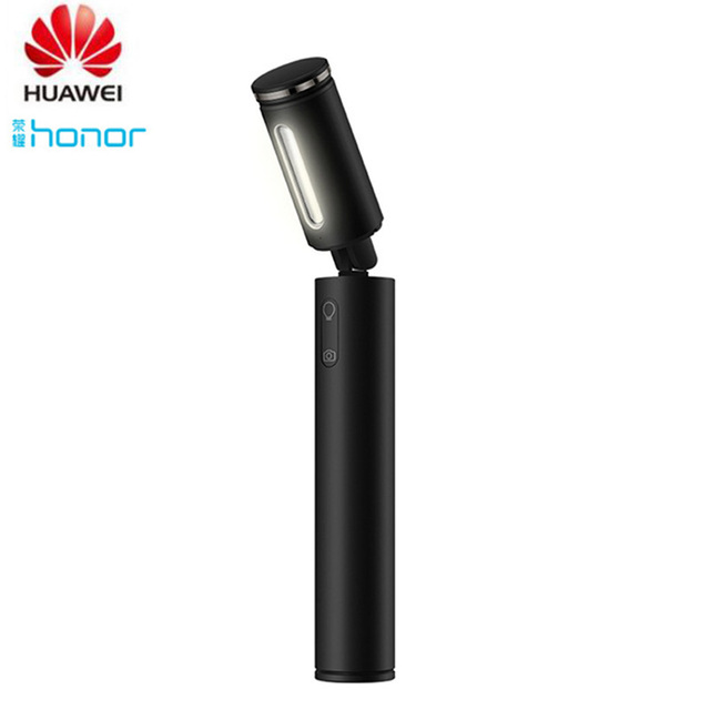 Huawei Fill Light Selfie Stick Portable LED Light Bluetooth Flashlight and Table Lamp Wireless Monopod for IOS/Android Phone