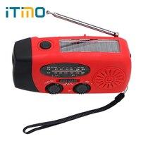 3 1 FM/AM Radyo LED El Feneri Güneş Enerjili Dinamo Telefon Şarj Acil Şarj El Krank Jeneratör