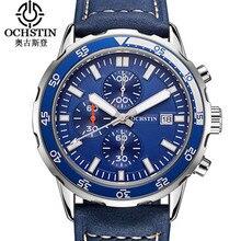 OCHSTIN Fashion Men Watch Military Sport Wristwatch Top Brand  Mens Chronograph Quartz Male Clock Relogio Masculino