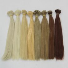 1pcs 25cm*100CM Straight Wig Hair Refires Bjd DIY for 1/3 1/4 Dolls BJD Accessories Handmade Diy Doll Wigs
