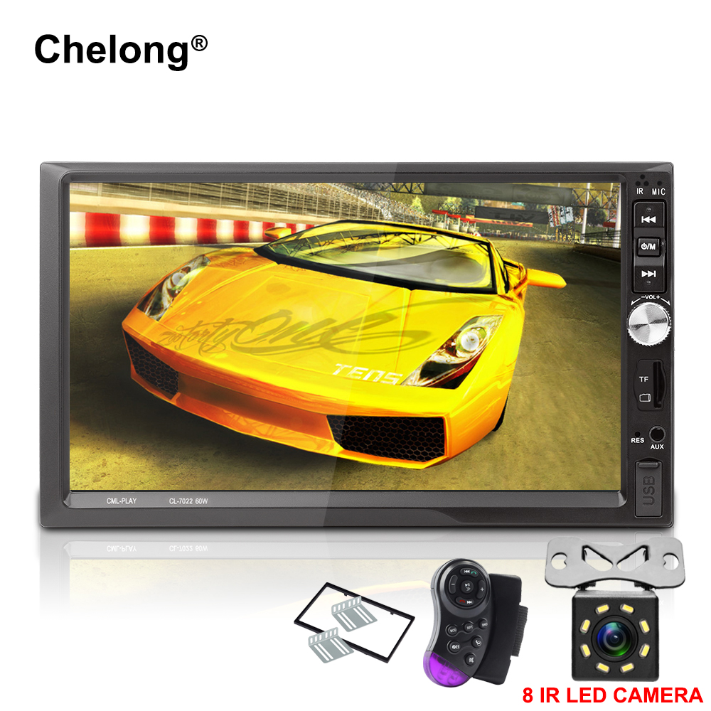 Autoradio 2 Din Car Radio 7 HD Touch Screen Audio Stereo Bluetooth Video MP5 Multimedia Player Support Front Rear View Camera car mp5 player stereo bluetooth radio car audio hd 7 inch 2 din touch screen autoradio handsfree support rear view camera player