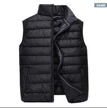 Men Autumn Plus Size Thick Down Jackets Man Winter Oversized Warm Down Parkas Male Winter Down Vests Men Spring Down Outerwear