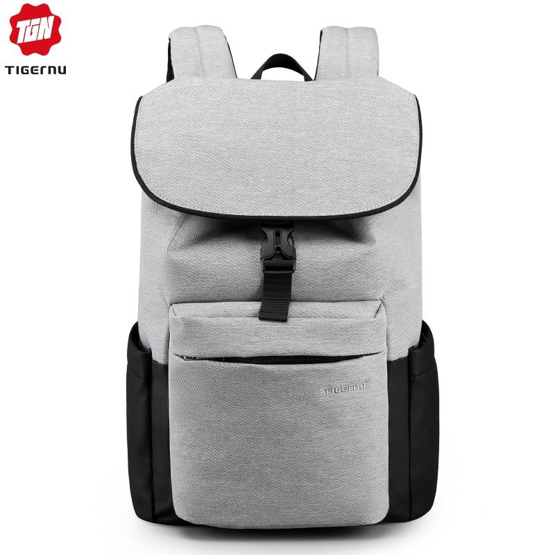 Tigernu 2019 Casual High Quality Men Backpacks Travel Bags Fashion Multifunction Waterproof School Backpacks For Teenager