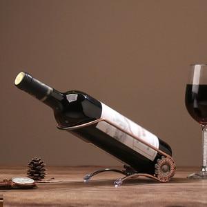 DIVV Metal Wine Rack Stand Bot