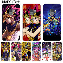 MaiYaCa Capa Yu-Gi-Oh anime Abstract Art Print Phone Cases Fashion for Samsung S9 S9 plus S5 S6S6edge S6plus S7 S7edge S8 S8plus(China)