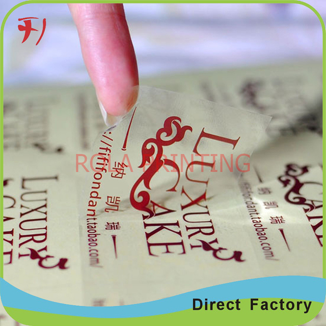Printing custom self adhesive logo stickerscustom adhesive waterproof logo labelsglass bottle labels