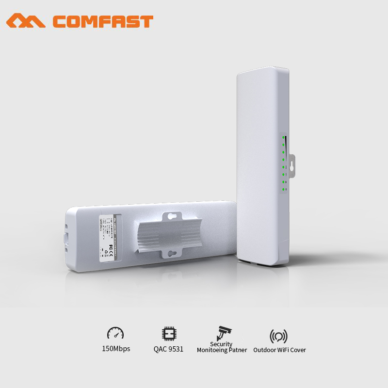 2pcs 150Mbps outdoor CPE point to point wifi transmission 2KM WIFI repeater Signal Amplifier Booster wireless bridge AP routers леггинсы printio паттерн с черепушками