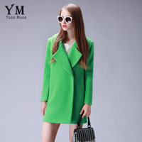 YuooMuoo Brand Fashion Winter Coat Women Casual Warm Wool Coat High Quality Thicken Cashmere Coat European