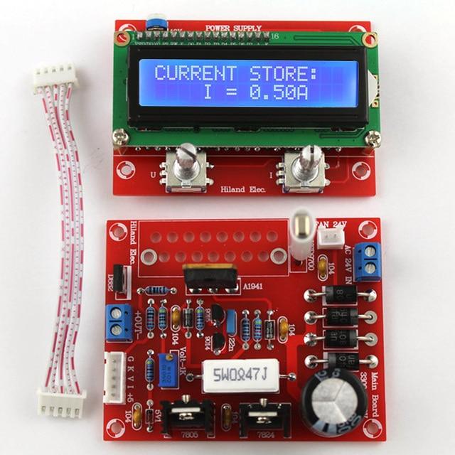 0 28v 0 01 2a Adjustable Dc Regulated Power Supply Diy Kit