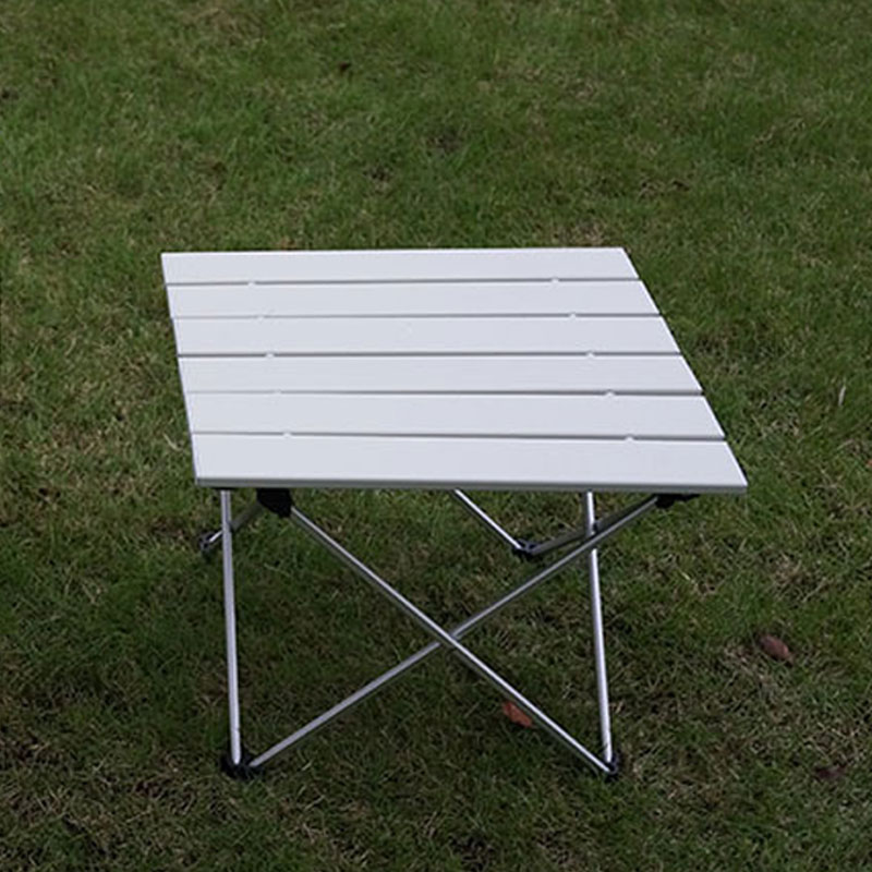Outdoor Aluminum Folding Table Portable Roll Up Table Folding Camping Outdoor Indoor Picnic Bag Table FREE SHIPING