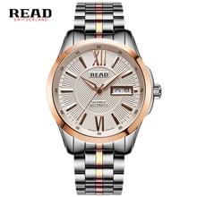 ПРОЧИТАТЬ лучшие автоматические механические часы мужские Часы полная сталь водонепроницаемый Бизнес Часы Мужчины Мода Часы relogio masculino